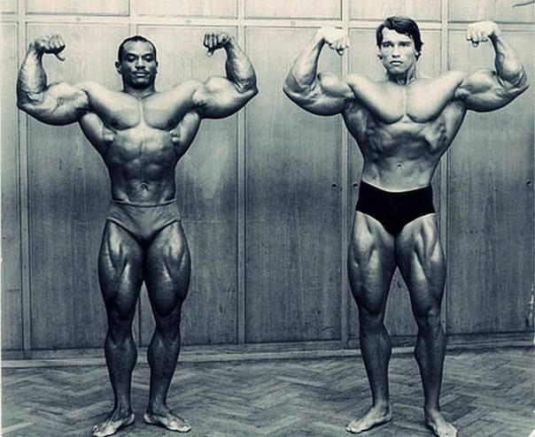 Эволюция формы победителей мистер олимпия