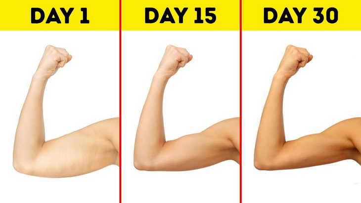 Лучшие упражнения для рук, чтобы не было обвисшей кожи