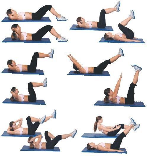Упражнения на нижний пресс: как накачать — 4 единственно эффективных упражнения