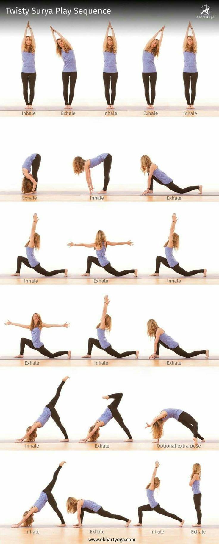 Упражнения йоги для похудения живота и боков в домашних условиях