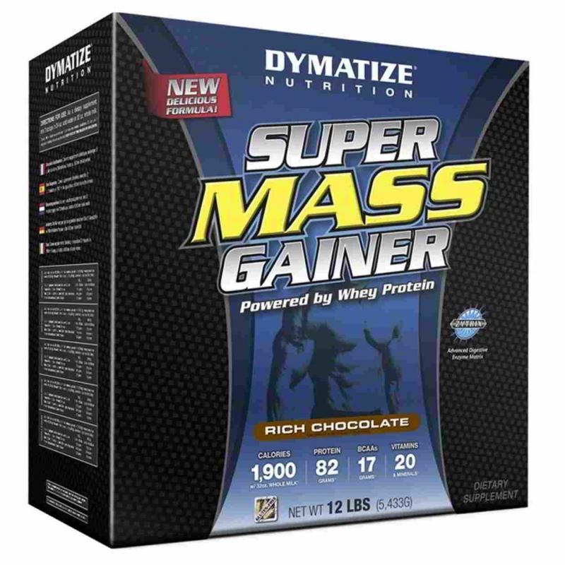 Dymatize super mass gainer (диматайз супер масс гейнер): состав, как принимать