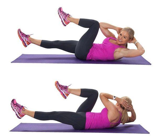 Эффективные упражнения в зале для тонкой талии - tony.ru