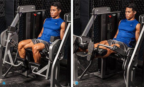 Сгибание ног в тренажере: варианты стоя и лежа, польза и вред упражнения, чем можно заменить