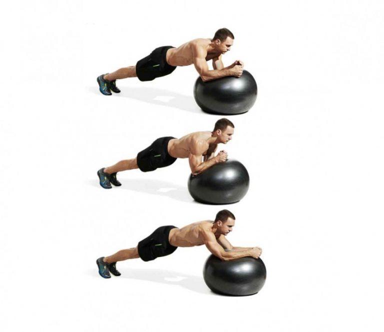 Упражнения на фитболе для похудения: простой и эффективный комплекс