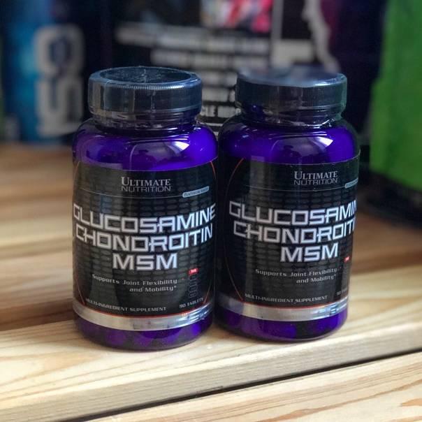 Глюкозамин+хондроитин+мсм - описание и инструкция по применению
