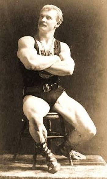 Основатель бодибилдинга сандов и его гантельная гимнастика