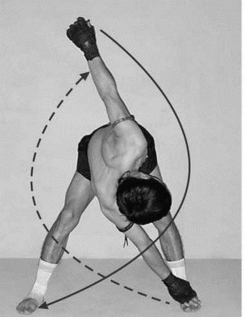 Как правильно делать мельницу упражнение. упражнение мельница — лучшее для боков. упражнение мельница для боков: варианты исполнения