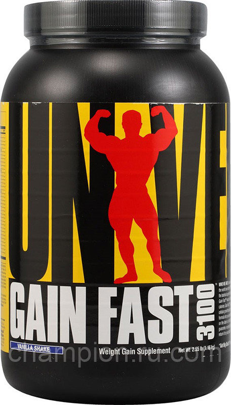 Gain fast 3100 от universal nutrition: как принимать, состав и отзывы