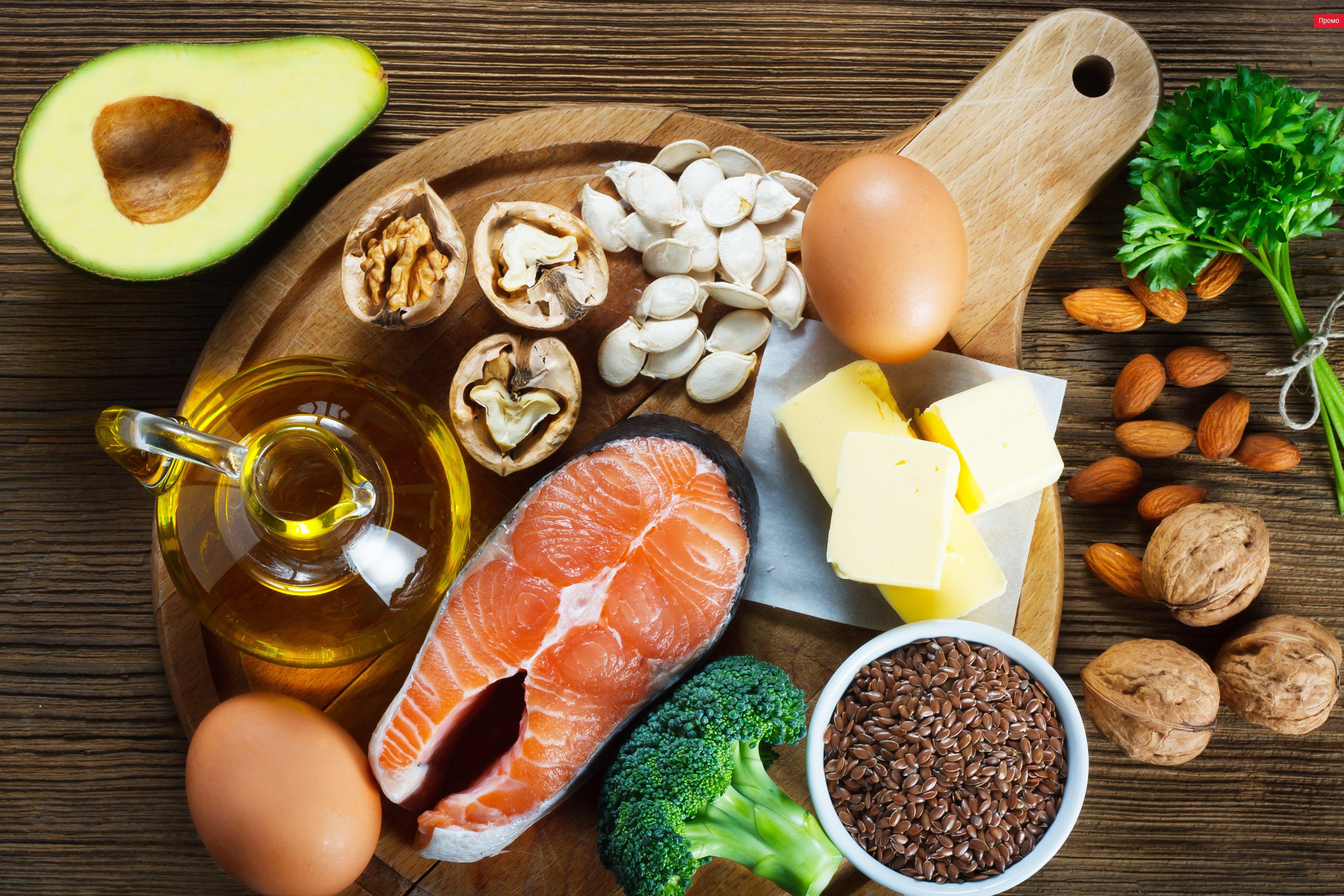 Омега жирные кислоты в продуктах питания