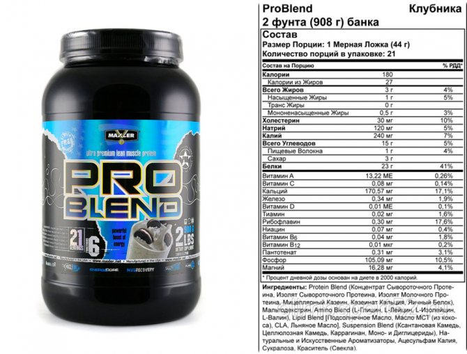 Протеины maxler или протеины optimum nutrition — какие лучше