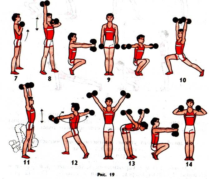Эффективный комплекс упражнений для утренней зарядки