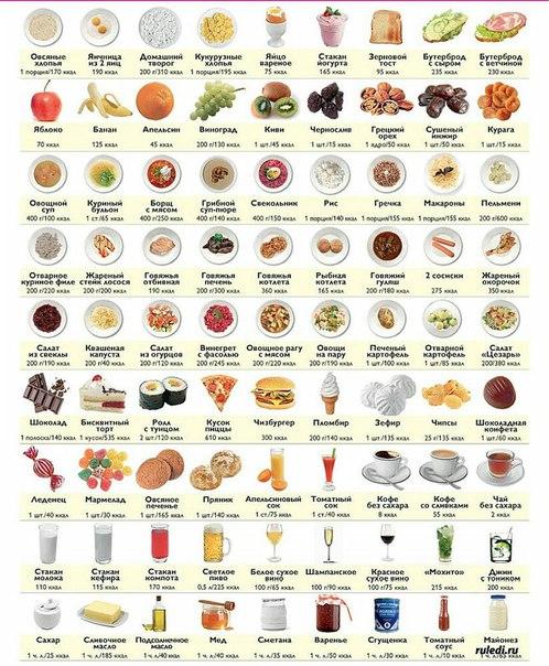 Как считать калории и бжу рациона: простая инструкция