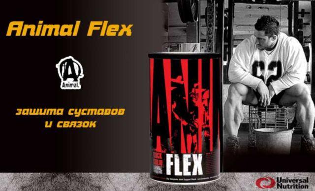 Поддержка суставов при помощи уникального комплекса animal flex от компании universal nutrition