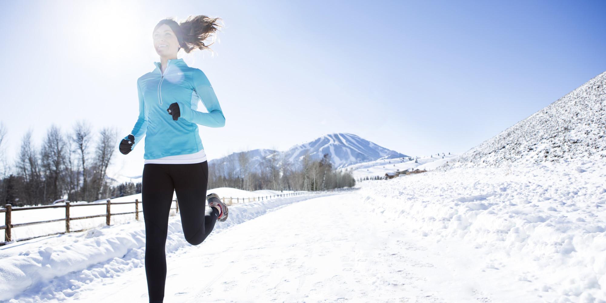 Бег на улице зимой — советы и отзывы