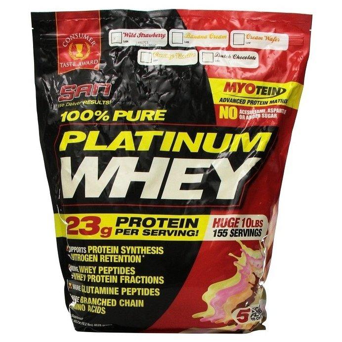 100% pure platinum whey от san - спортивное питание на dailyfit