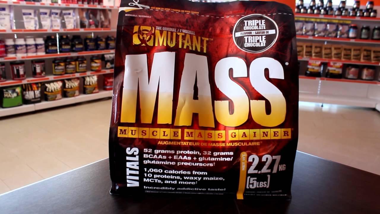 Отзывы: mutant mass – один из лучших гейнеров в своей ценовой категории