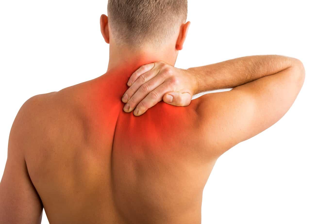 Боль в спине между лопатками - причины, что делать при боли и жжении