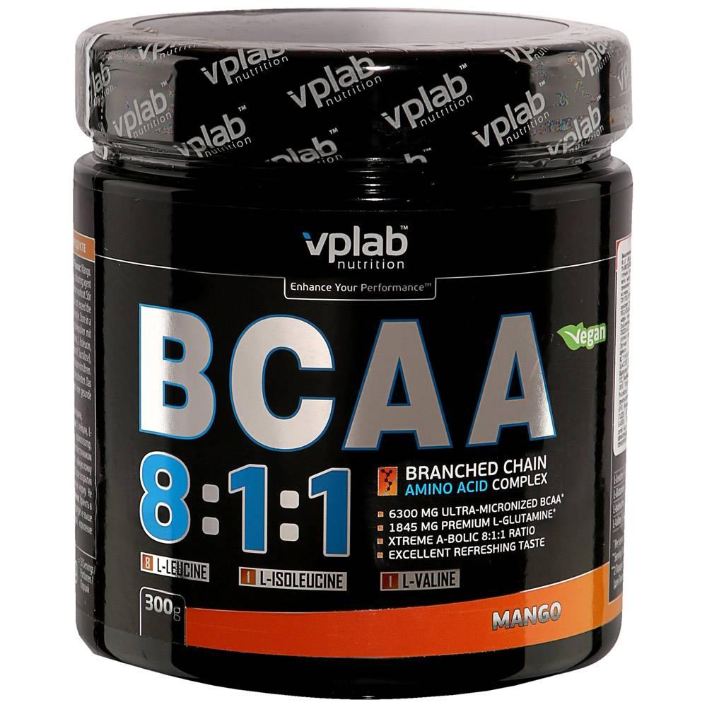 Vplab bcaa 2:1:1 - как правильно принимать для похудения?