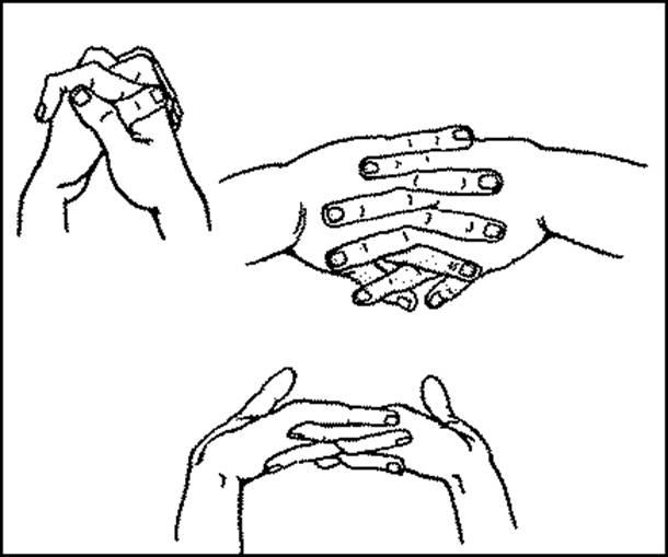 Комплекс гимнастики для суставов пальцев рук