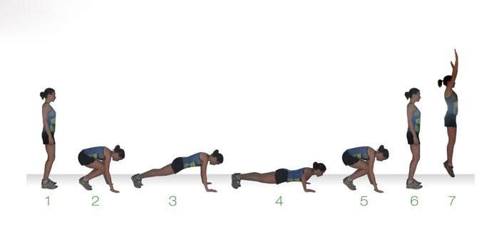Берпи - что это за упражнение и как правильно его делать?