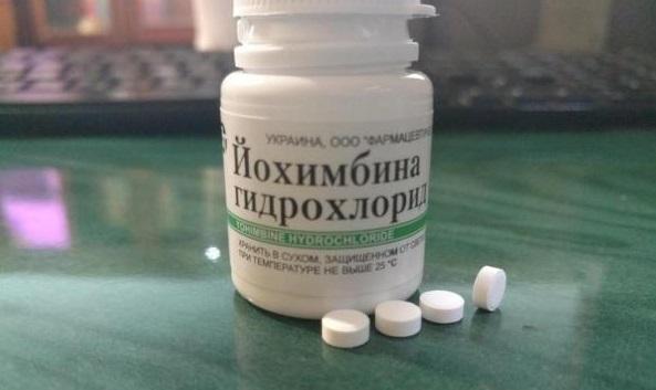 Йохимбина гидрохлорид - как принимать в таблетках, показания для мужчин и женщин, механизм действия