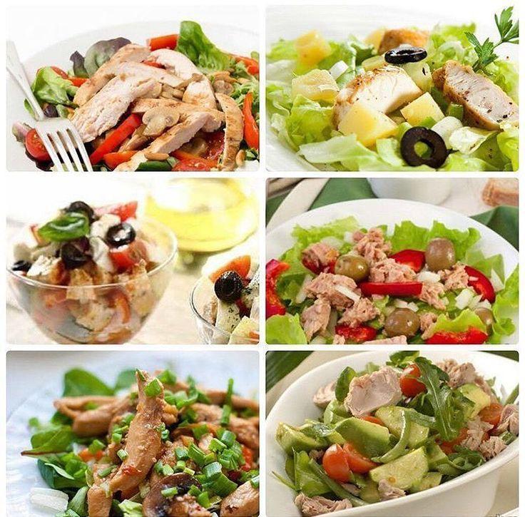 Салат для сушки тела идеальный ужин