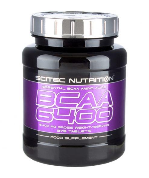 Bcaa scitec nutrition 6400: состав, соотношение аминокислот, цены