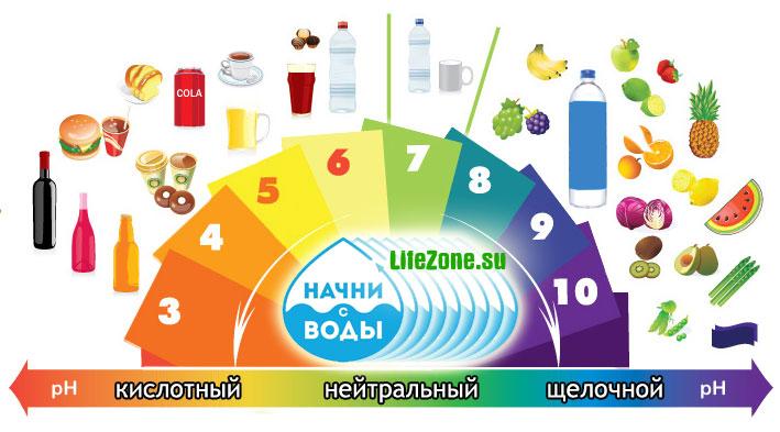 Список щелочных продуктов питания и напитков в таблице: польза и меню щелочного питания для кислотно-щелочного баланса в организме. какие продукты щелочные?   qulady
