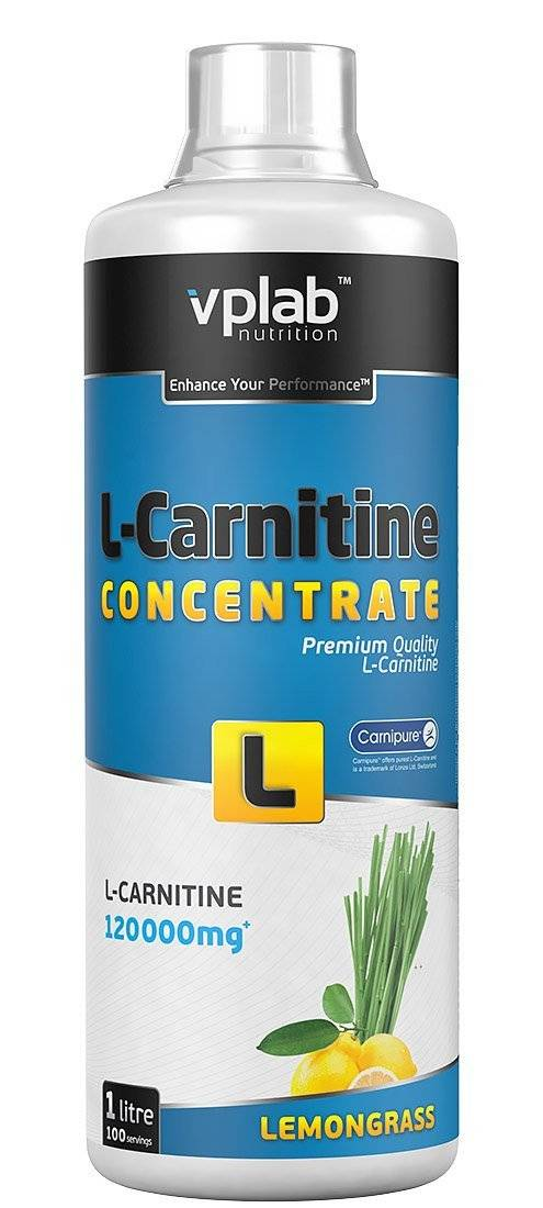 Vplab l-carnitine concentrate 1000мл vplab nutrition - л-карнитин - концентрат