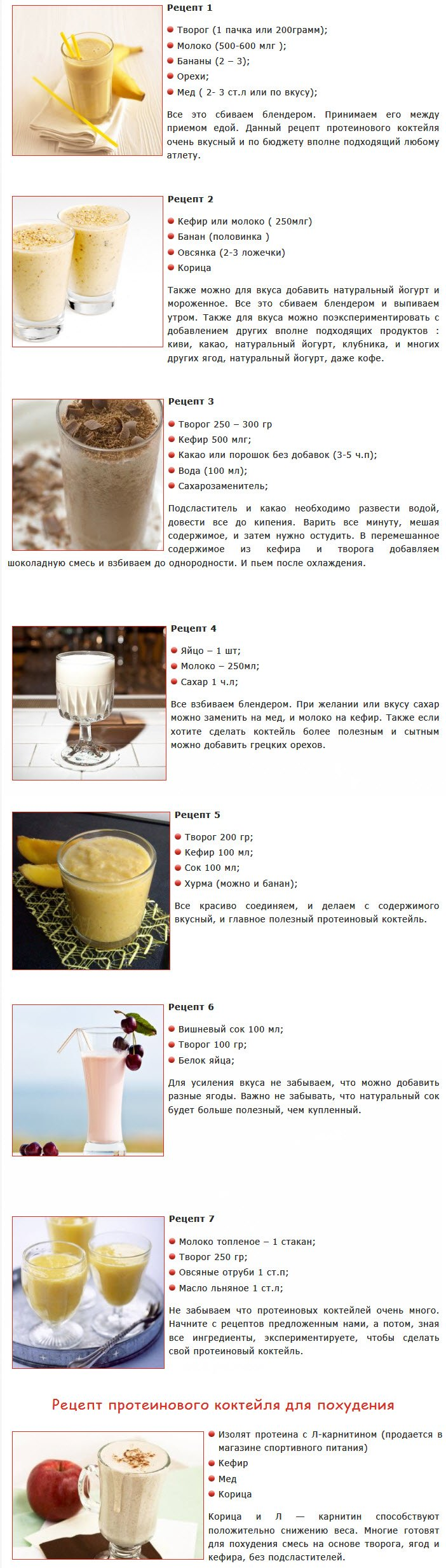 Жиросжигающие коктейли: рецепты приготовления в домашних условиях