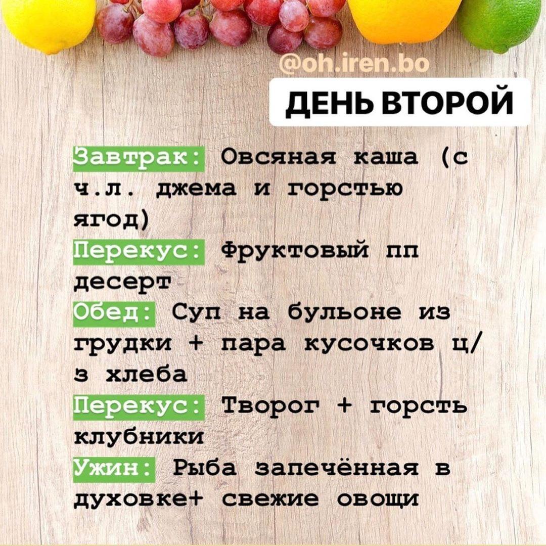 Ежедневное меню