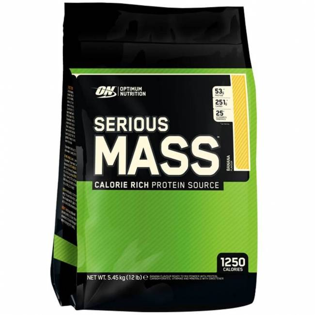 Обзор гейнеров optimum nutrition: serious mass и pro gainer