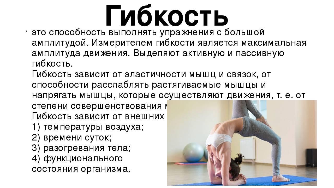 Упражнения для развития гибкости, чтобы стать более пластичными в домашних условиях