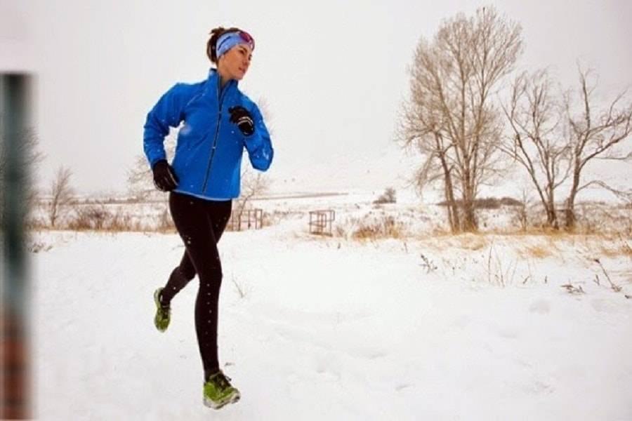 Бег зимой: как бегать правильно и не заболеть