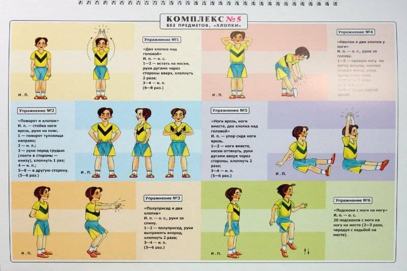 Комплекс упражнений для утренней зарядки мужчинам и женщинам