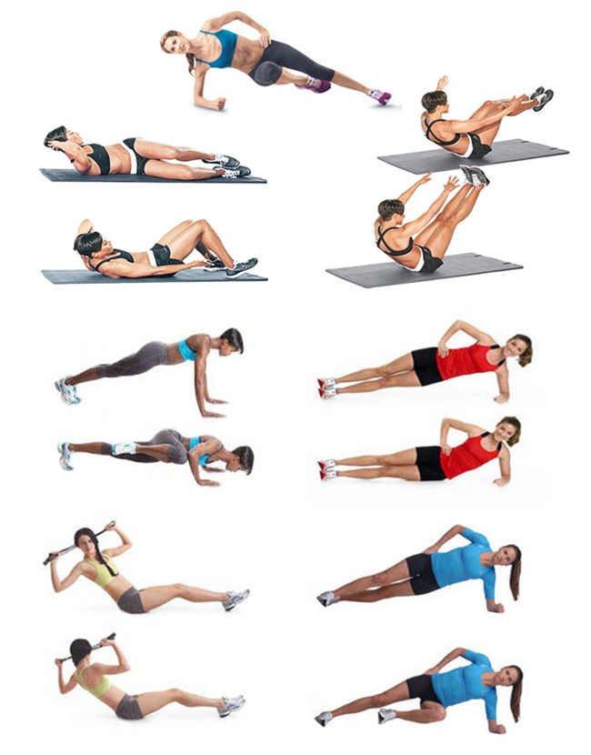 Как убрать бока: 20 правил + 20 упражнений (фото)