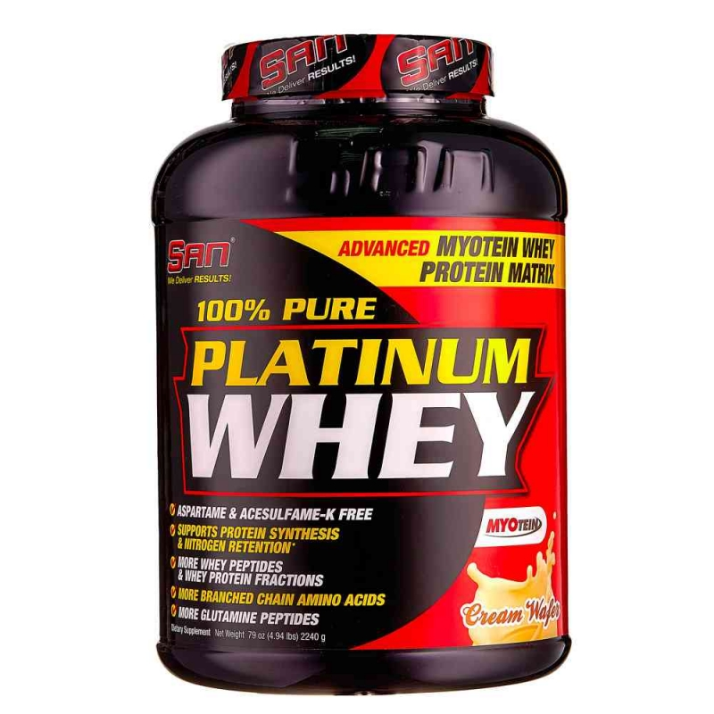 Рlatinum whey – 100% сывороточный протеин из великобритании для набора массы