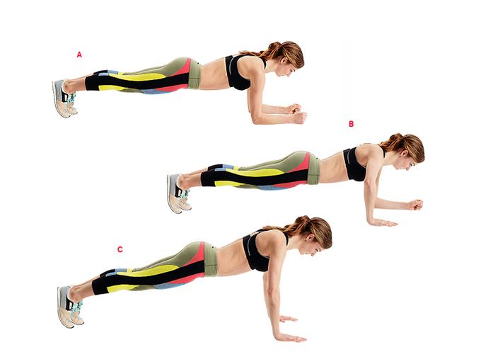 Динамическая планка – варианты упражнения на все группы мышц
