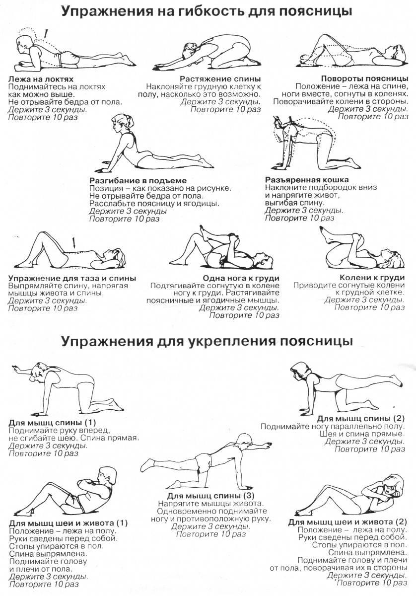 Упражнения для развития и укрепления мышц спины