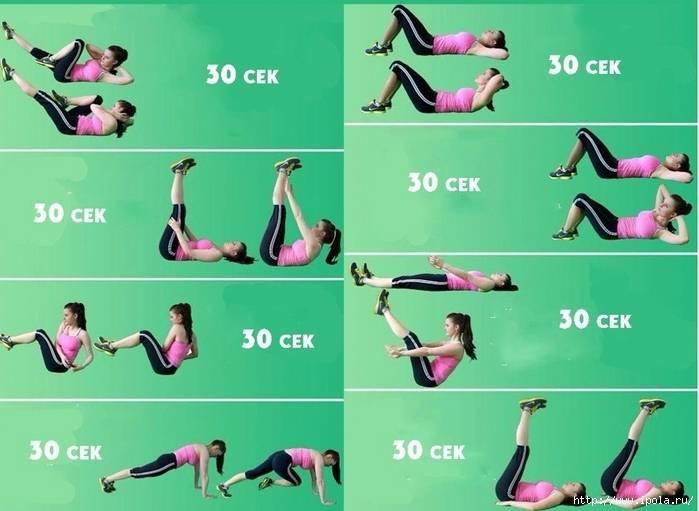 Самые эффективные рекомендации и упражнения для похудения живота и боков в домашних условиях