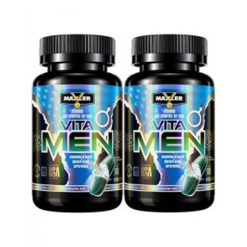 Как принимать витамины для мужчин  vita men maxler | фактор силы - качайся с  умом!