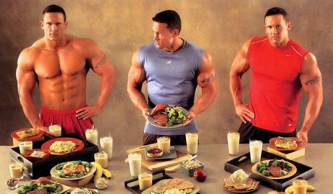 Правильное питание для спортсменов: рацион бодибилдера