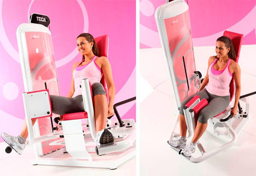 Сведение ног в тренажере сидя: какие мышцы работают, техника выполнения для женщин и мужчин