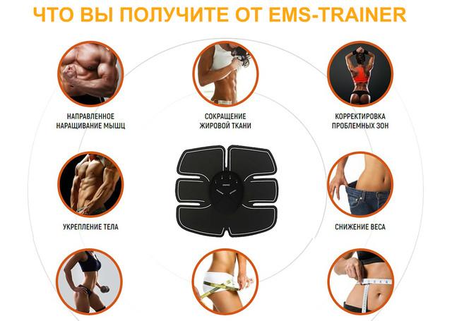 Ems trainer пояс - allslim.ru
