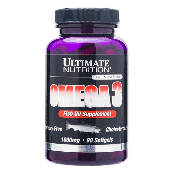 Ultimate nutrition omega-3: состав, действие, инструкция и цена