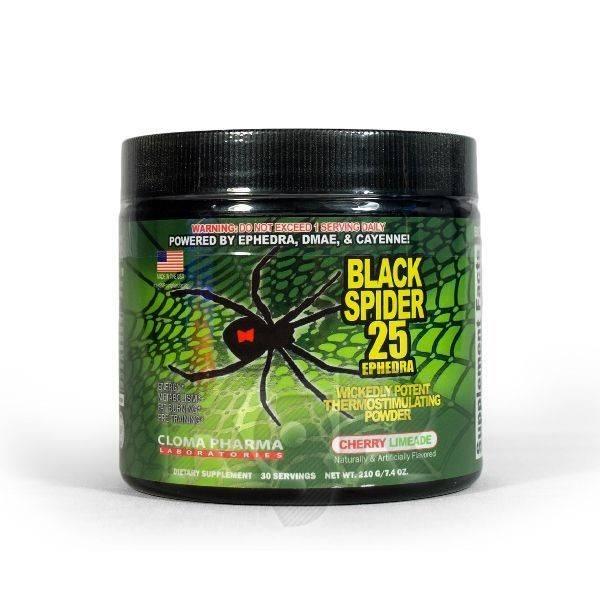 Как правильно принимать жиросжигатель black spider
