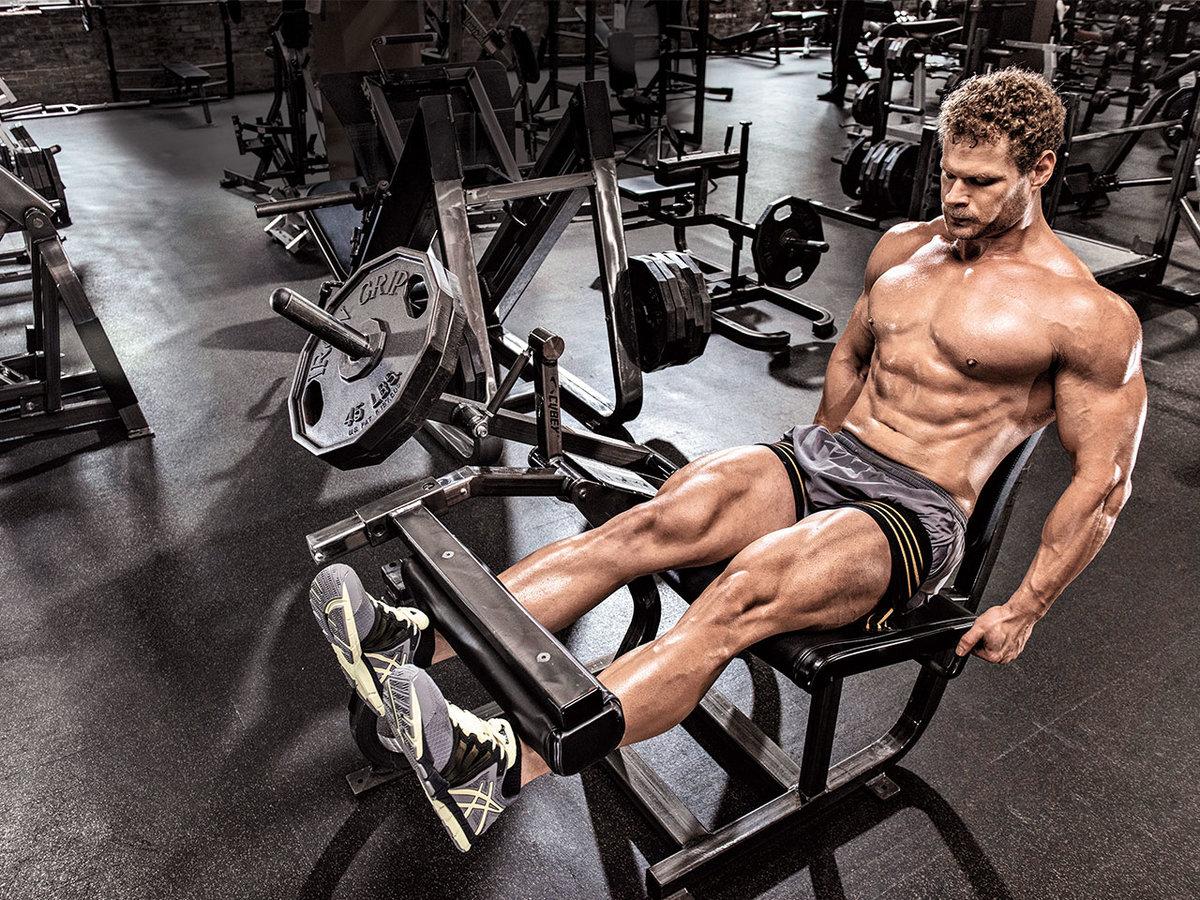 Простая домашняя тренировка для набора мышечной массы