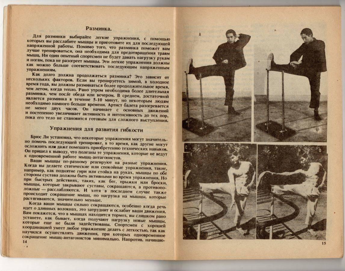 Программа тренировок брюса ли: какими методами он пользовался?