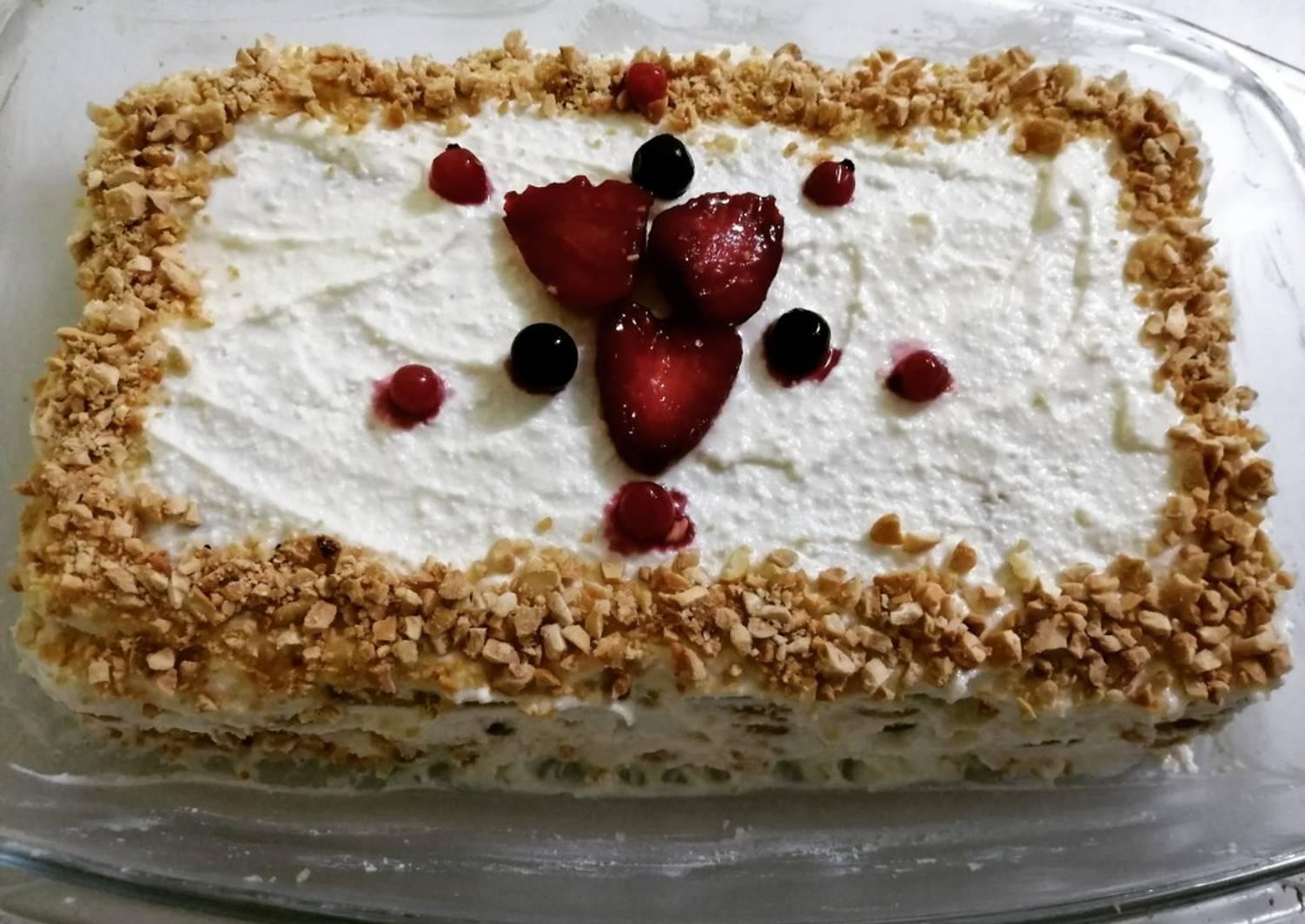 Диетические, низкокалорийные торты — пп рецепты приготовления вкусных десертов