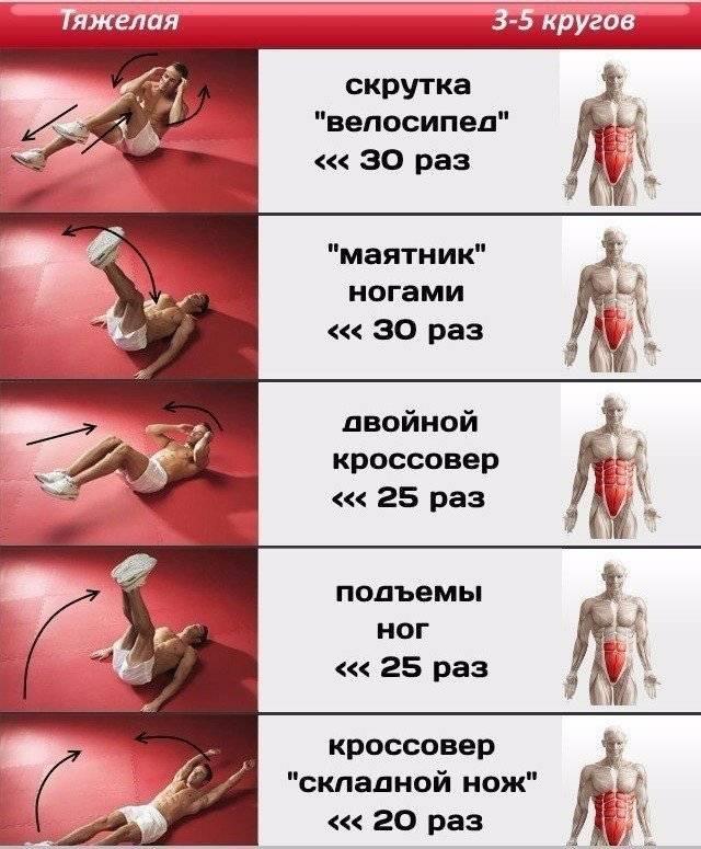 5 комплексов упражнений для круговых тренировок на все группы мышц для жиросжигания